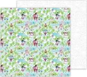 North Pole Paper - Let It Snow - Doodlebug - PRE ORDER