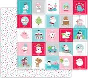 Holiday Dots Paper - Let It Snow - Doodlebug - PRE ORDER