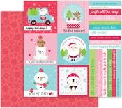 Tis The Season Paper - Let It Snow - Doodlebug - PRE ORDER