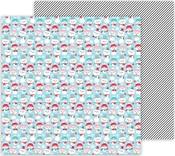Snow Happy Paper - Let It Snow - Doodlebug - PRE ORDER