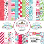 Let It Snow 6x6 Paper Pad - Doodlebug - PRE ORDER