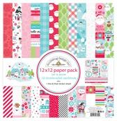 Let It Snow 12x12 Paper Pack - Doodlebug - PRE ORDER
