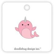 Hello Narwhal Collectible Pin - Doodlebug - PRE ORDER