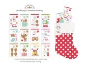 Doodlepop Christmas Stocking - Doodlebug - PRE ORDER