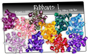 Ribbons & Bows - Curly Ribbons I