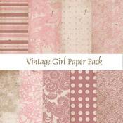 Vintage Girl Paper Pack
