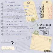 Sign and Date Stamp Kit