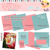 Instant Sparkle Overlays