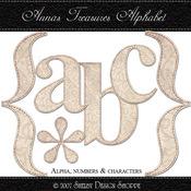 Anna's Treasures Alpha Set