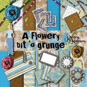 A Flowery Bit 'O Grunge