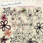 Messy Flower Doodles