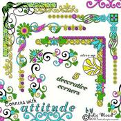 Corners with Attitude
