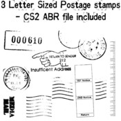 Postage Stamps Set 2