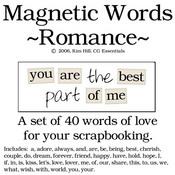 Magnetic Words - Romance