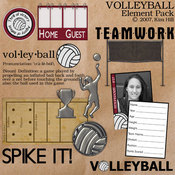 Volleyball Element Pack
