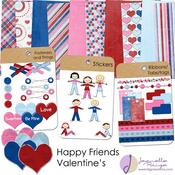Happy Friends : Valentine's
