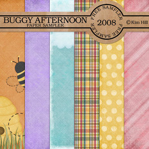 FREE Buggy Afternoon Paper Sampler