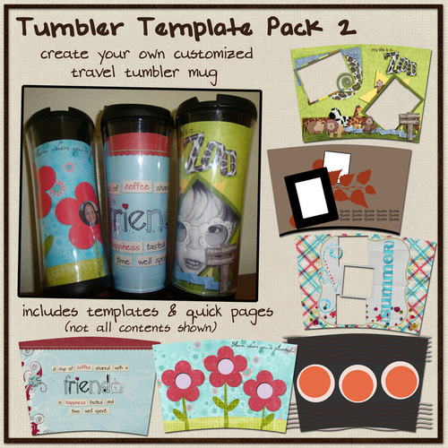 Sweet Cherry Designs Tumbler Template Set 2 A On Top