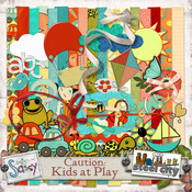 Caution: Kids at Play {a Sassy/SteelCity Collaboration}