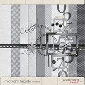 Midnight Tuxedo Page Kit