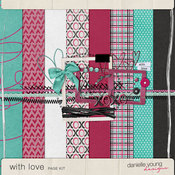 With Love Page Kit