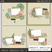 Modern Style Templates Vol 3
