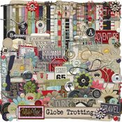 Globe Trotting Digital Kit