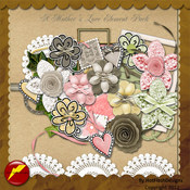 A Mother's Love Element Pack by HotFlashDesigns