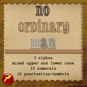 No Ordinary Man Alpha Pack by HotFlashDesigns
