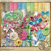 Radiant Blooms Kit by Silvia Romeo