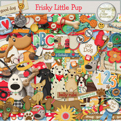 Frisky Little Pup Digital Kit
