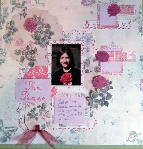 becky fleck scrapbooking sketch challenge free