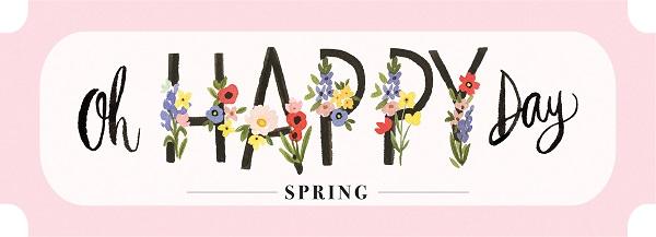 Oh Happy Day Spring Carta Bella