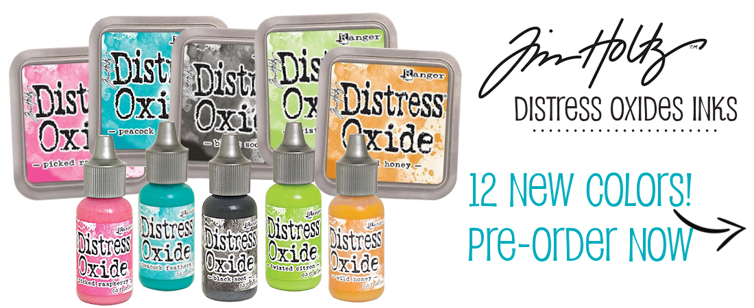 tim holtz new distress oxides inks