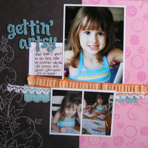 Inque Boutique Layout by Laura Fiore