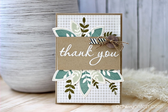 how to make a thank you card a cherry on top jean martin