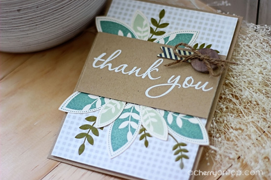 thank you card how to jean martin a cherry on top