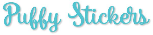 Bella Blvd Puffy Stars & Hearts Stickers