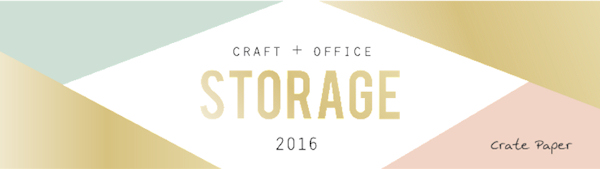 Craft & Office Storage, Crate Paper