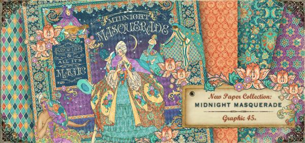 Graphic 45 Midnight Masquerade
