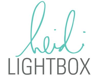 Heidi Swapp Lightbox Light Box