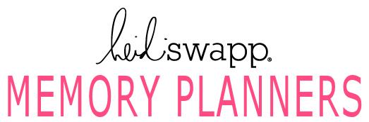 Heidi Swapp Memory Planners 2017