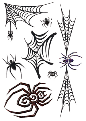 Spider Tattoos on Spiders Tattoo 3 5 X7 61 16975 1 39 Temporary Tattoos On Order This