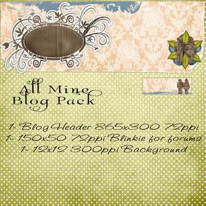All Mine Blog Pack