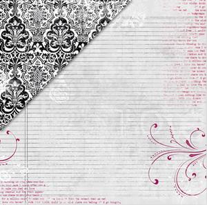 Love Ledger / Black Damask