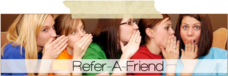 Refer A Friend and get 1,000 Points!