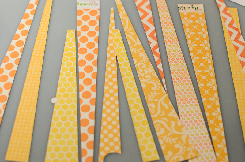 Sunshine Wall Art: Use up your scraps!: A Cherry On Top