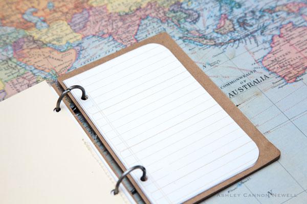 travel scrapbook journal