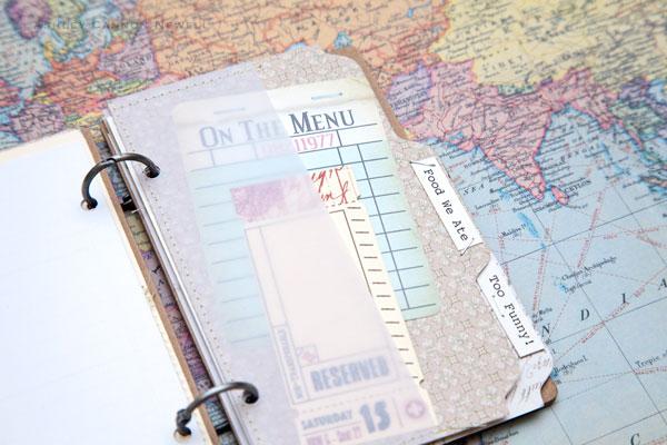 how to scrapbook travel momentos