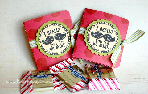 Cherry Bits: How To Make Valentine Gift Card Treat Holders